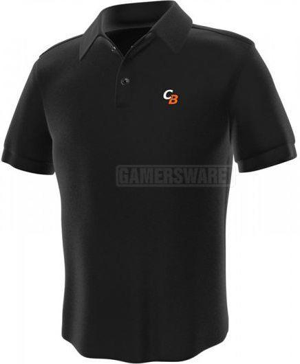 GamersWear ComputerBase Polo czarna (S) ( 0170-S ) 1