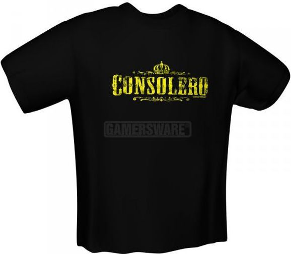 GamersWear CONSOLERO T-Shirt czarna (XL) ( 5106-XL ) 1