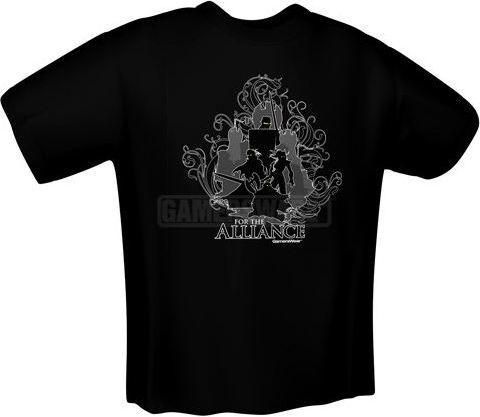 GamersWear FOR THE ALLIANCE T-Shirt czarna (L) ( 5139-L ) 1