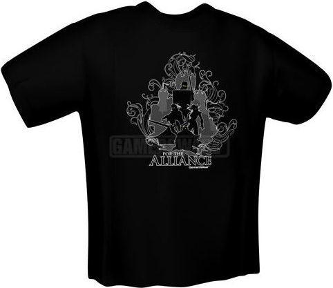 GamersWear FOR THE ALLIANCE T-Shirt czarna (S) ( 5139-S ) 1