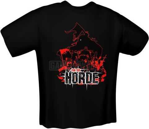 GamersWear FOR THE HORDE T-Shirt czarna (M) ( 5138-M ) 1