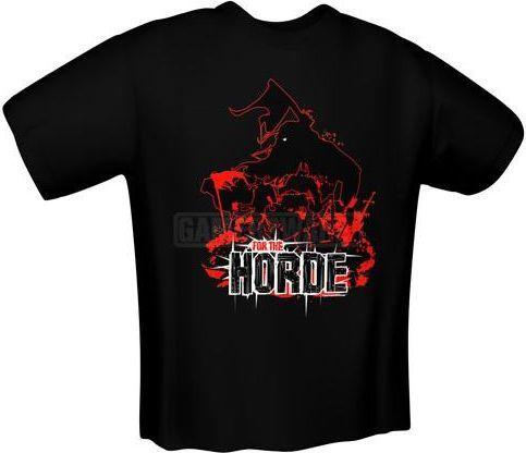 GamersWear FOR THE HORDE T-Shirt czarna (XL) ( 5138-XL ) 1
