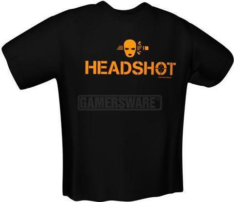 GamersWear HEADSHOT T-Shirt czarna (XL) ( 5925-XL ) 1