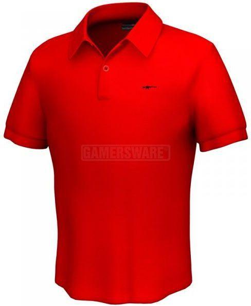 GamersWear M4 Polo czerwona (XL) ( 5892-XL ) 1