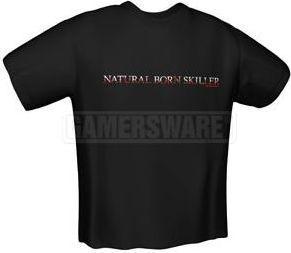 GamersWear NATURAL SKILLER T-Shirt czarna (XXL) ( 5121-XXL ) 1