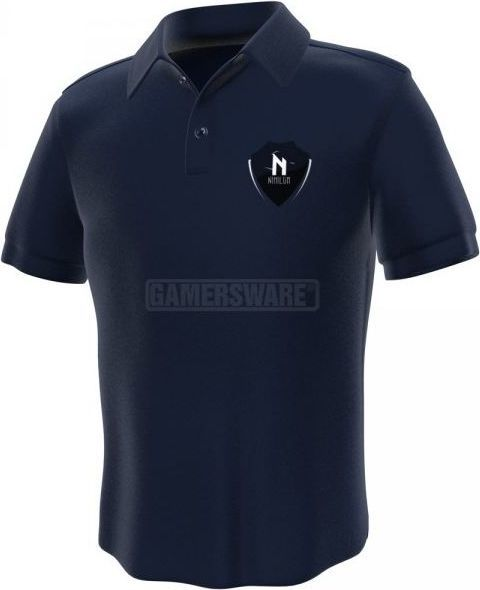GamersWear Nihilum Polo granatowa (XL) ( 0053-XL ) 1