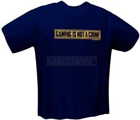GamersWear NOT A CRIME T-Shirt granatowa (L) ( 5050-L ) 1