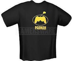 GamersWear PADMAN T-Shirt czarna (L) ( 5123-L ) 1