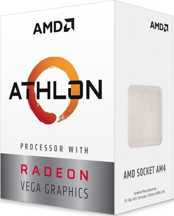 Procesor AMD Athlon 200GE, 3.2GHz, 4 MB, BOX (YD200GC6FBBOX) 1