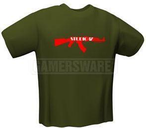 GamersWear STUDIO 47 T-Shirt oliwkowa (XL) ( 5129-XL ) 1