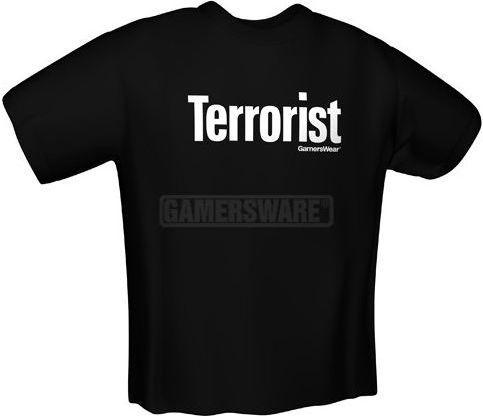 GamersWear TERRORIST T-Shirt czarna (XL) ( 5058-XL ) 1