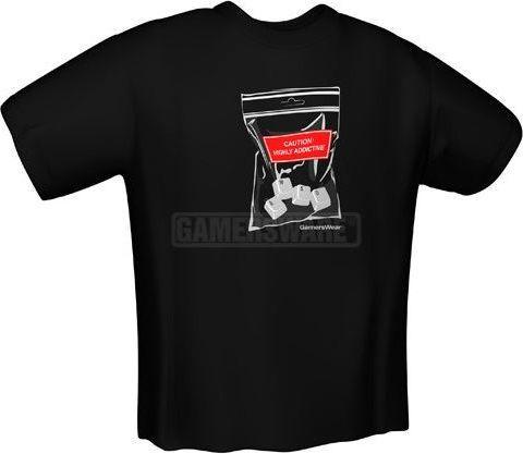 GamersWear WASD T-Shirt czarna (L) ( 5130-L ) 1