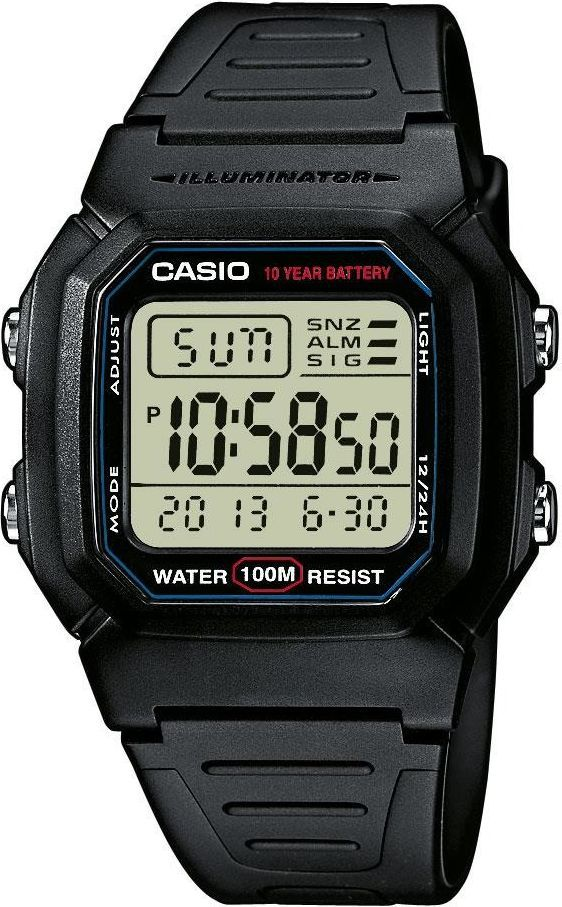 Zegarek Casio Męski W-800H -1VEF 1