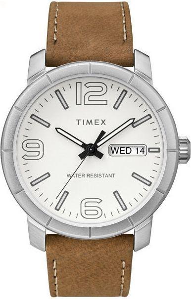 Zegarek Timex Męski Mod 44 TW2R64100 brązowy 1