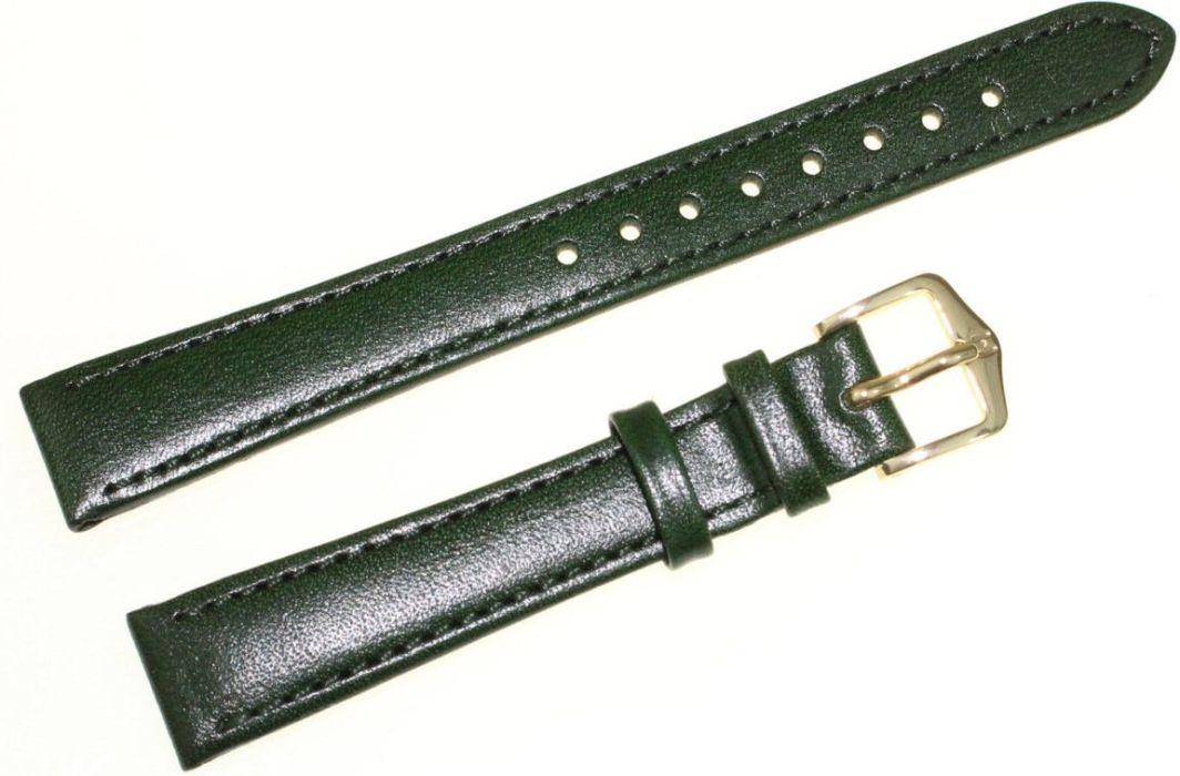 Hirsch Skórzany wodoodporny pasek do zegarka 14 mm HIRSCH Osiris 03475140-1-14 1