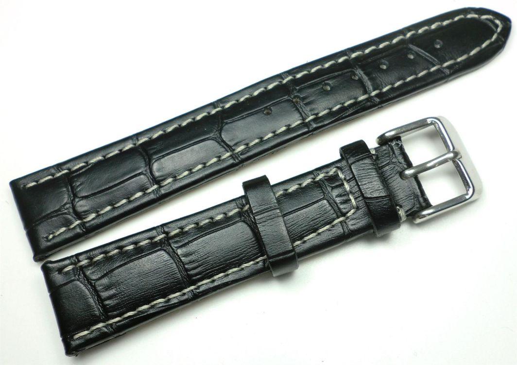 JVD Skórzany pasek do zegarka 18 mm JVD J18.001.01 1