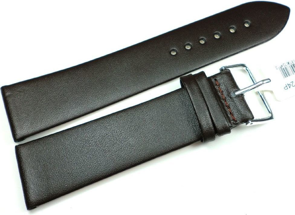 JVD Skórzany pasek do zegarka 24 mm JVD R14802-24P XL 1