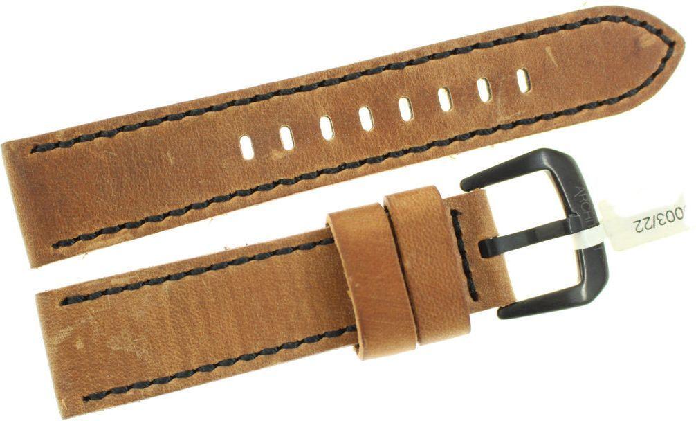 JVD Skórzany pasek do zegarka 22 mm JVD R20003-22 1