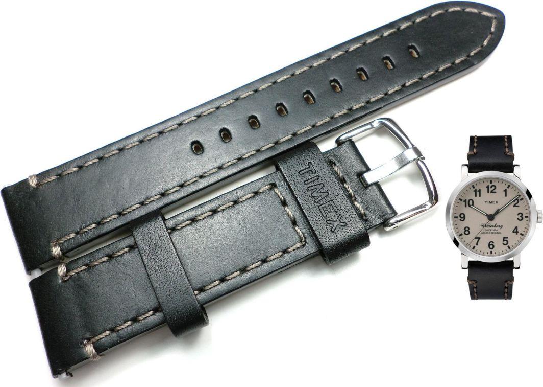 Timex Pasek do zegarka Timex TW2P58800 PW2P58800 20 mm Skóra 1