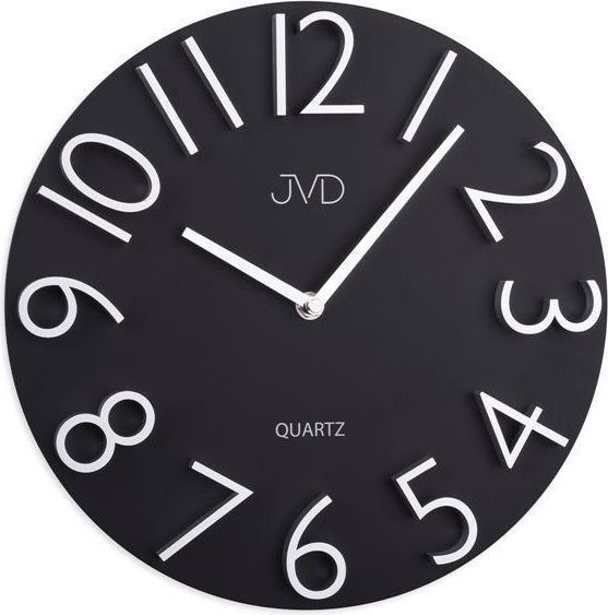 JVD Zegar ścienny JVD HB22.1 29 cm Drewniany, wypukły 1