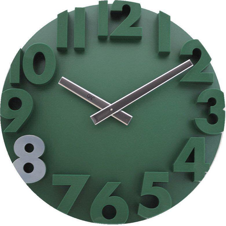 JVD Zegar ścienny JVD HC16.2 średnica 34 cm Cyfry 3D 1