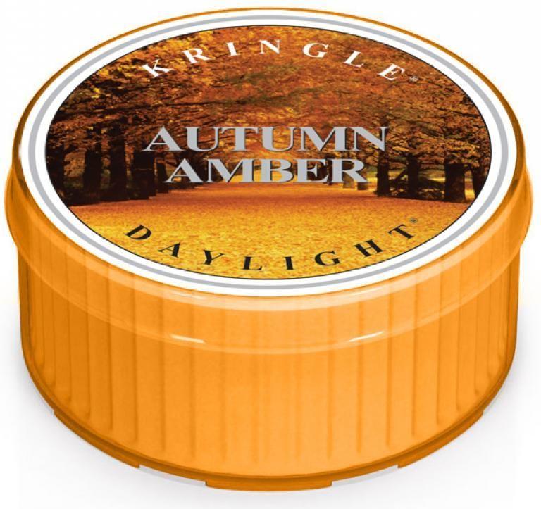 Kringle Candle Świeca zapachowa Autumn Amber Daylight 35g 1