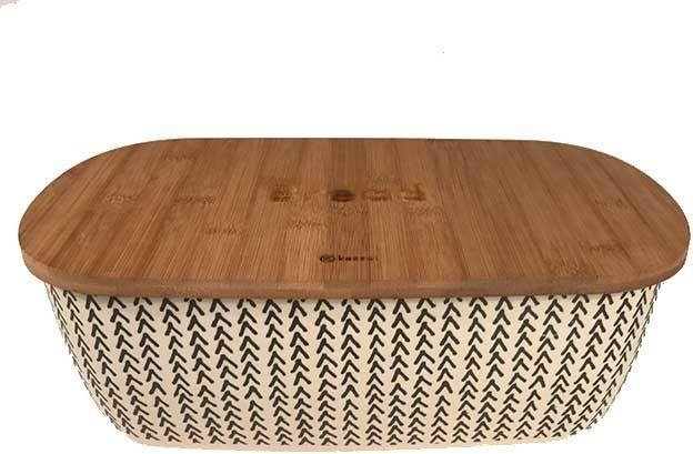 Chlebak Kassel bambusowy z deską do krojenia (93502) 1