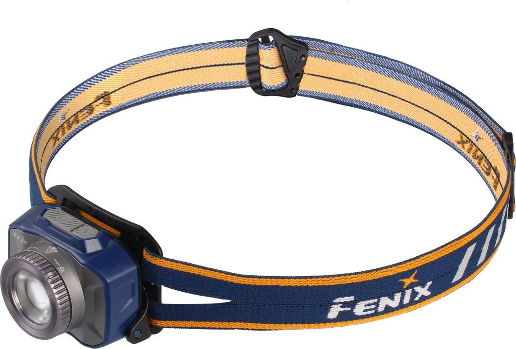 Fenix Latarka czołówka diodowa HL40R niebieska 1