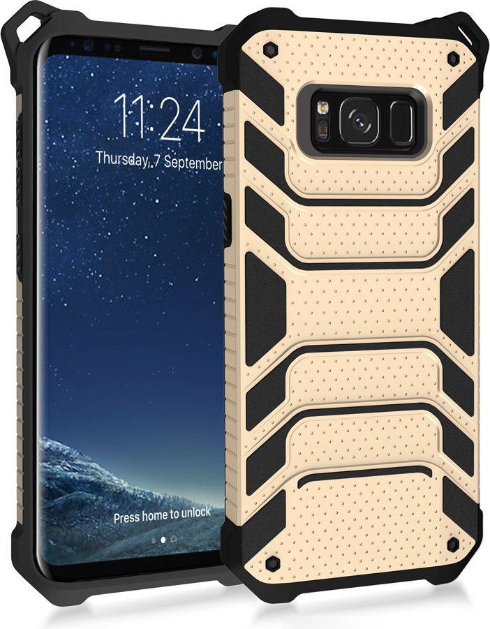 Hurtel Spider Armor pancerne etui wytrzymały pokrowiec Samsung Galaxy S8 Plus G955 złoty 1