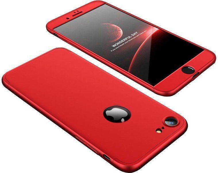 Hurtel Etui iPhone 7 360 Protection pokrowiec na przód + tył czerwony 1