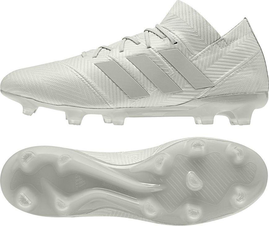 06a882b146fd Adidas Buty piłkarskie Nemeziz 18.1 FG Ash Silver   Ash Silver   White Tint  r. 45 1 3 (DB2081) w Sklep-presto.pl