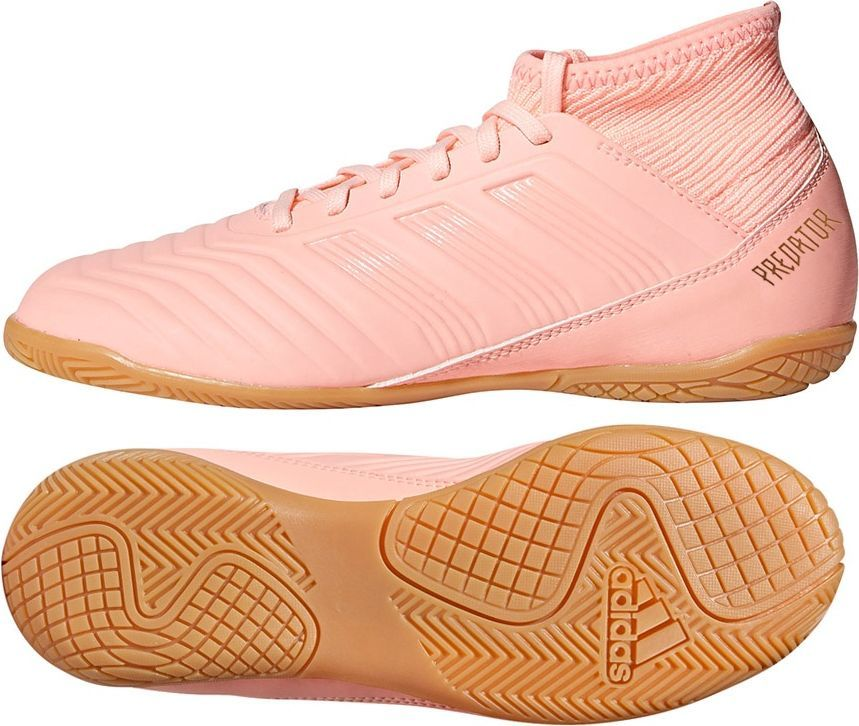 Różowe buty sportowe adidas kolekcja zima 2018