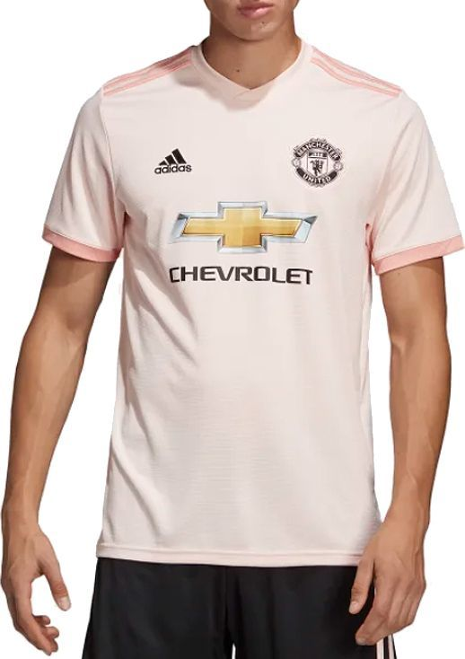 Adidas Koszulka męska Manchester United JSY różowa r. L (CG0038) ID produktu: 4992018