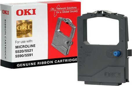OKI Taśma do drukarki Microline ML5520 / ML5521 / ML5590 / ML5591 czarna (01126301) 1