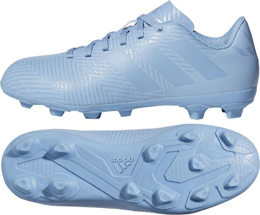 Adidas Buty piłkarskie Nemeziz Messi 18.4 FxG niebieskie r. 32 (DB2368) ID produktu: 4994917