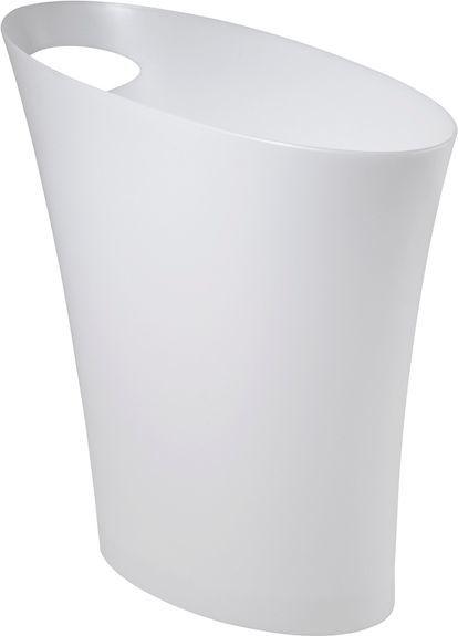 Kosz na śmieci Umbra Skinny 7,5L biały (082610-661) 1