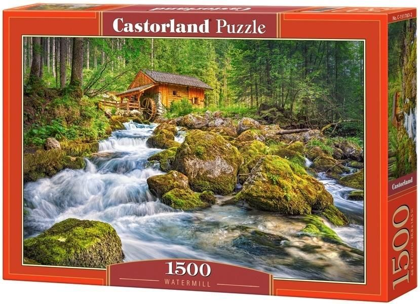 Castorland Puzzle 1500 Watermill 1