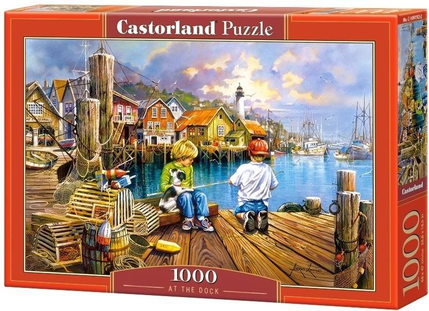 Castorland Puzzle 1000 elementów At the Dock 1