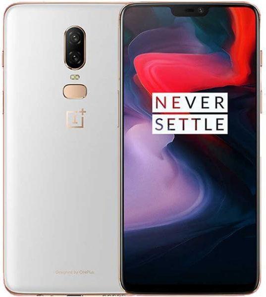 Smartfon OnePlus 6 128 GB Dual SIM Biały  (6921815605607) 1