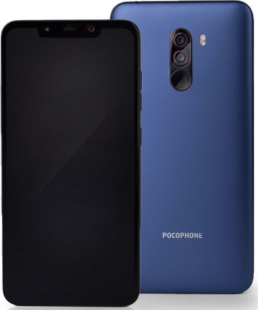 Smartfon Xiaomi Pocophone F1 128 GB Dual SIM Niebieski  (MZB6757EU) 1