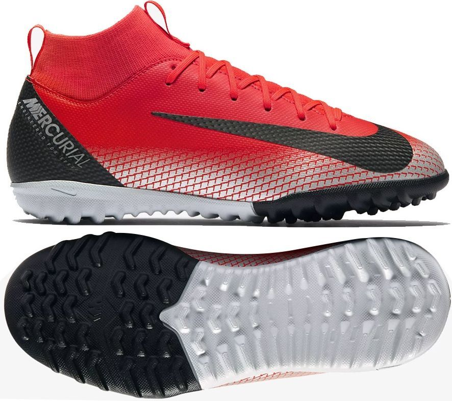 3e0597b0e3995 Nike Buty piłkarskie JR Mercurial Superfly 6 Academy GS CR7 TF czerwone r.  32 (AJ3112-600) w Sklep-presto.pl