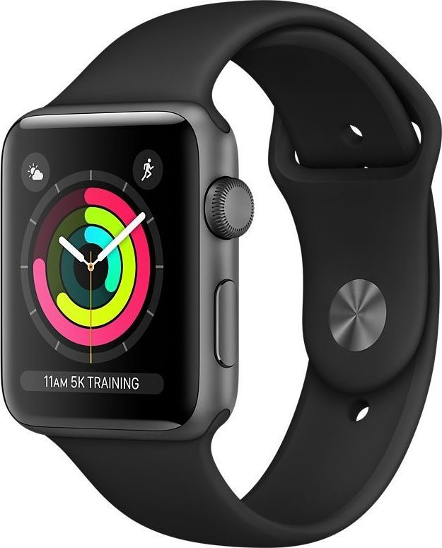 Smartwatch Apple Watch Series 3 GPS Szary  (MTF02MP/A) 1