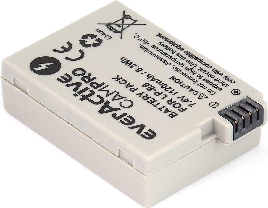 Akumulator everActive zamiennik Canon LP-E8, 1120 mAh (EVB018) 1