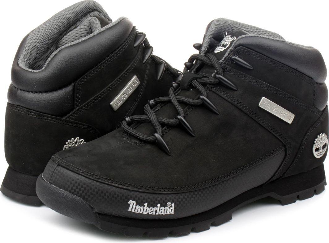 Timberland Buty męskie Euro Sprint Hiker czarne r. 40 (6361R) ID produktu: 4999990