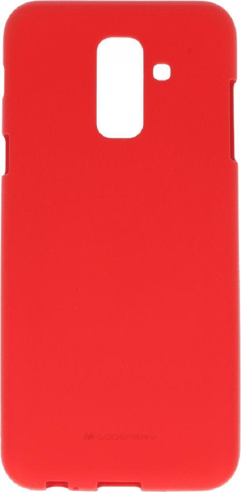 Mercury Goospery Etui Soft jelly SAMSUNG A6 2018 czerwone 1