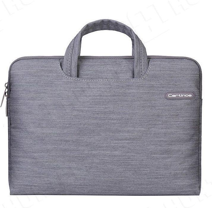00ce40e296346 Cartinoe Stylowa torba na laptopa 13,3 cala Cartinoe Jean Series szara w  Morele.net