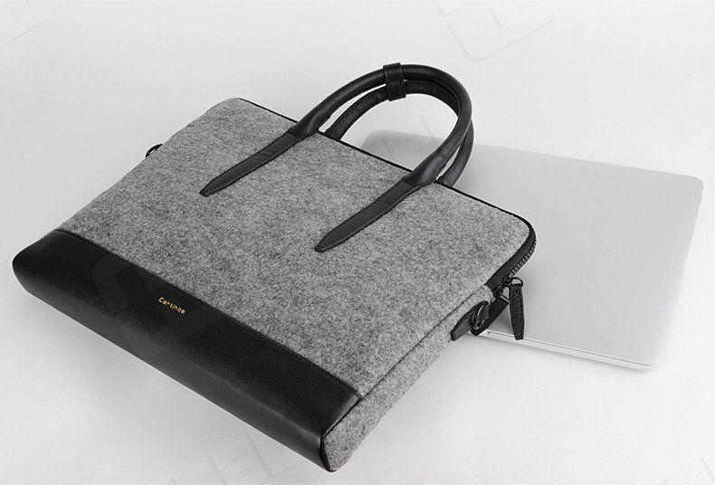 Torba Cartinoe Stylowa torba z filcu na laptopa 13,3 cala Cartinoe Prevalent Series (Plus) szara ID produktu: 5003712
