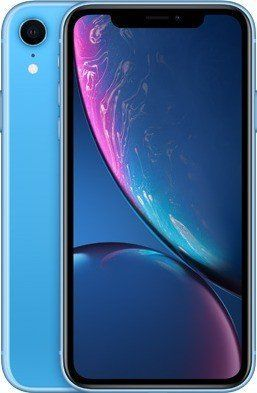 Smartfon Apple  iPhone XR 3/128GB Dual SIM Niebieski  (MRYH2PM/A) 1