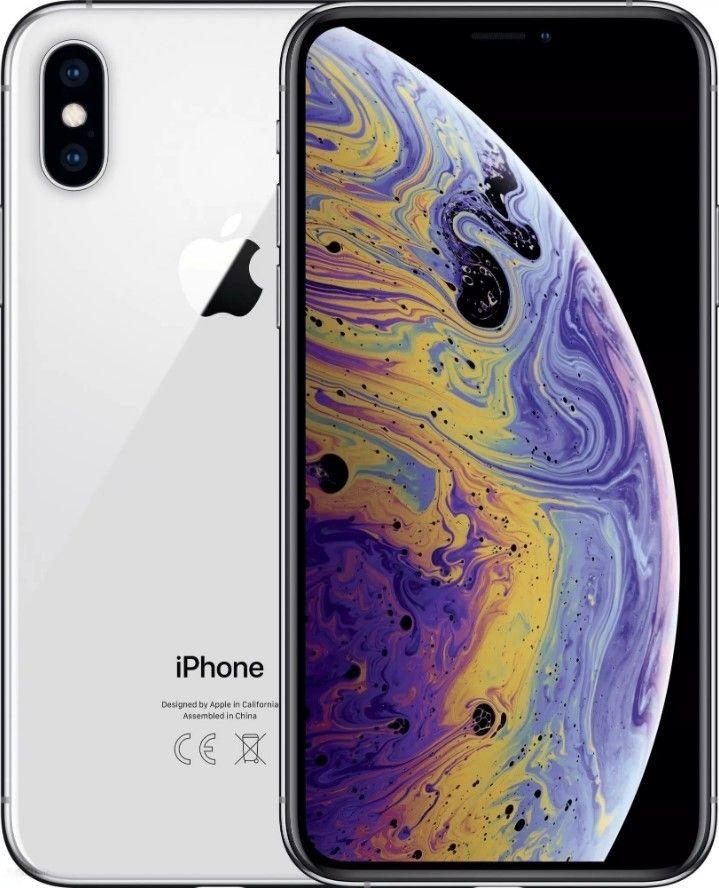 Smartfon Apple iPhone XS 64 GB Dual SIM Srebrny  (MT9F2PM/A) 1