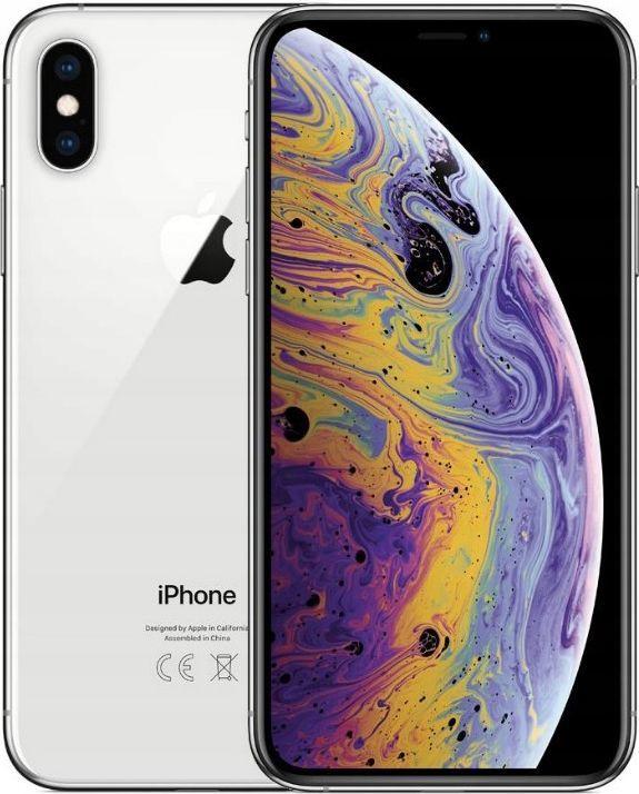 Smartfon Apple iPhone XS Max 4/256GB Dual SIM Srebrny  1